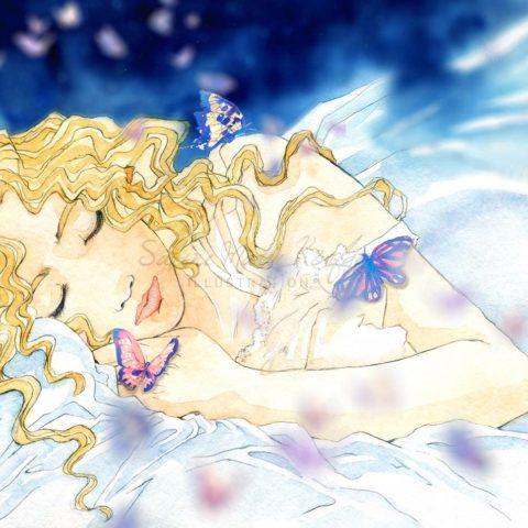 Ein Engel kommt in der Nacht